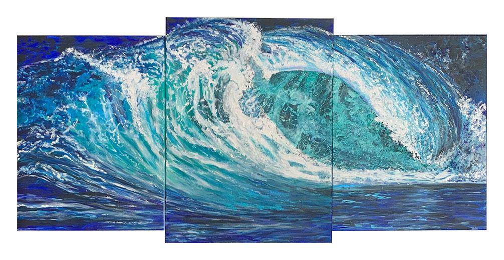 Rough Seas - $550