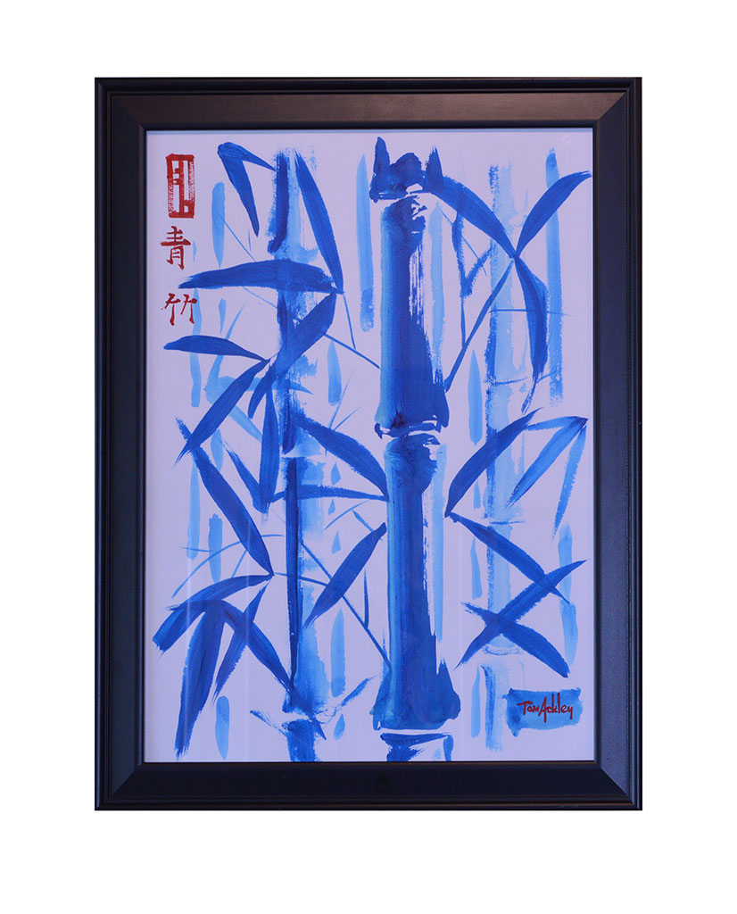 Blue Bamboo - $500